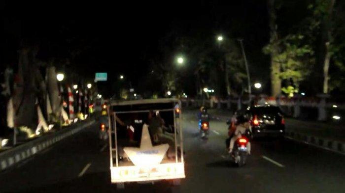 BREAKING NEWS - Pembatasan Jam Malam Kota Bogor, Aktivitas Malam di Pusat Kota Sepi