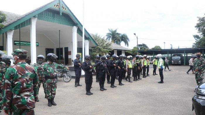 Libur Panjang, Tim Siaga TNI-Polri dan Satpol PP Patroli Jaga Kota Bogor