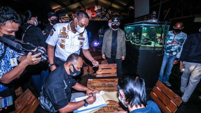 Langgar Jam Operasional, 3 Kafe Didenda Satgas Covid-19 Kota Bogor