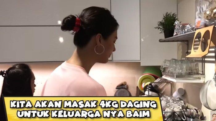 Terkejut Makan Masakan Paula Verhoeven, Respon Kakak Baim Wong Bikin Mama Kiano Geleng-geleng Kepala