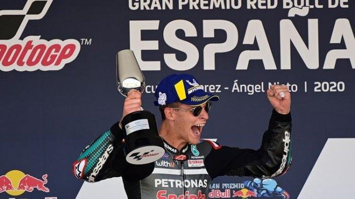 Hasil MotoGP Catalunya 2020: Fabio Quartararo Jadi yang Tercepat