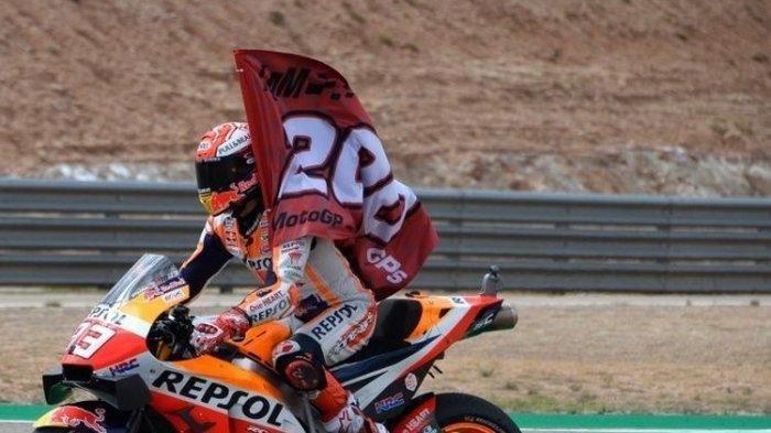 Sisakan 4 Seri Balapan, Marc Marquez Dipastikan Kembali Jadi Juara Dunia MotoGP 2019