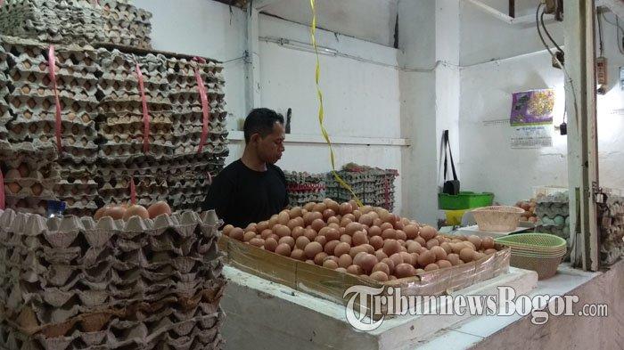 Harga Telur di Kota Bogor Mulai Turun, Disperindag Singgung Masalah Produksi