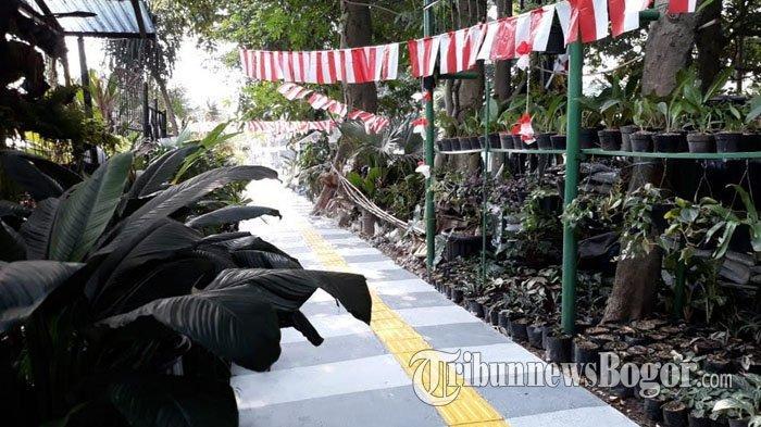 Pedestrian di Jalan Dr Semeru Kini Lebih Hijau dan Bebas dari PKL