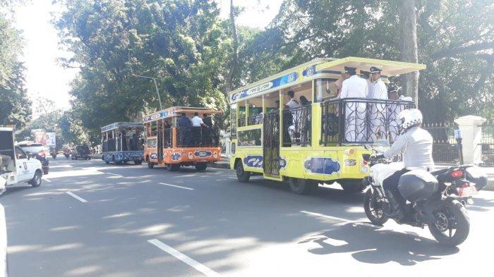 Dishub Sebut Tak Ada Anggaran, Bima Arya 2 Jam Arak Pejabat Baru Kota Bogor Keliling Naik Bus Uncal