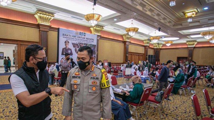 Sebanyak 2.598 dari 2.669 sasaran pelajar di Kota Bogor telah disuntik vaksin dosis pertama di dua lokasi berbeda.