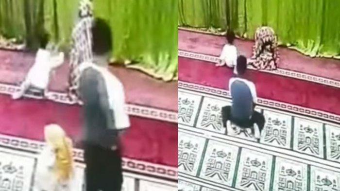Viral Video Pria Lecehkan Anak di Masjid, Buka Resleting saat Korban Sujud, Begini Ciri-ciri Pelaku