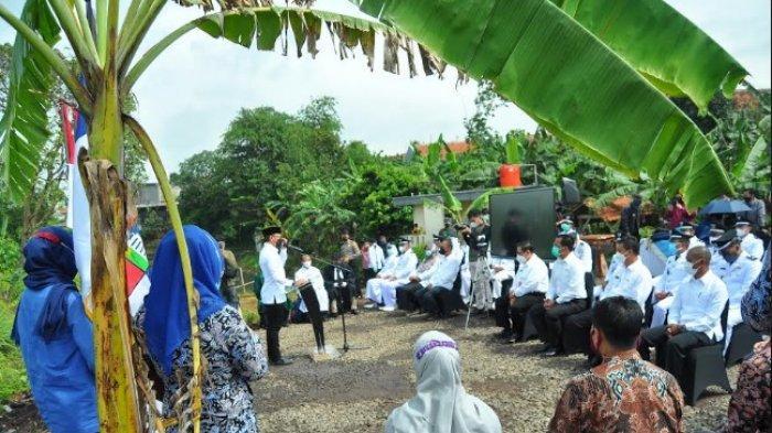 Bima Arya Lantik Pejabat Kota Bogor Disamping Kebun Singkong