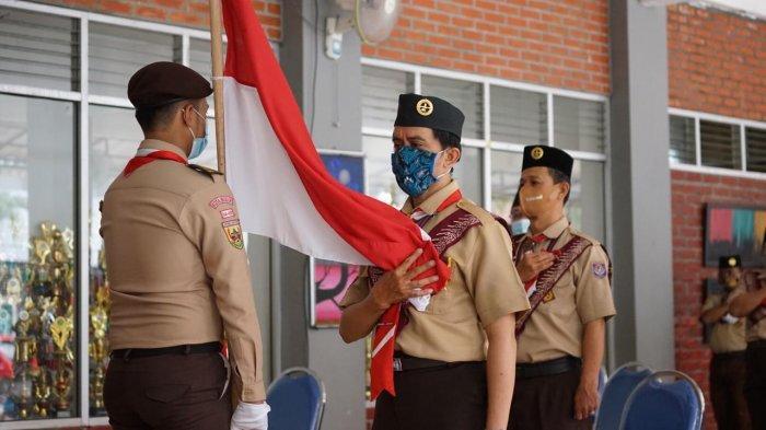 Usia Tak Lagi Muda, 60 Korps Pelatih Pembina Pramuka Resmi Dilantik, Siapkan Kegiatan Jarak Jauh