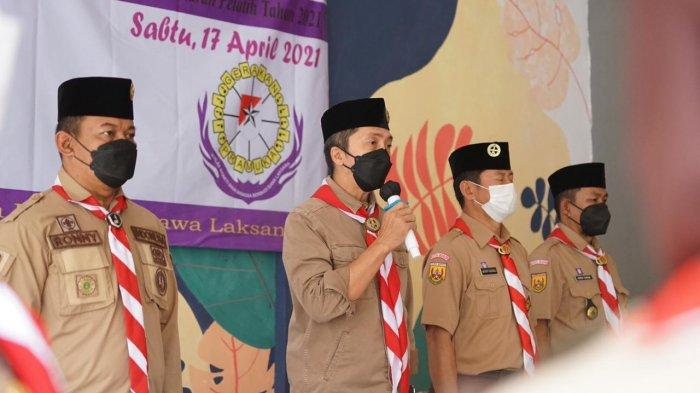60 Korps Pelatih Pembina Pramuka se-Kota Bogor masa bakti 2020 - 2025 dilantik Ketua Kwarcab Pramuka Kota Bogor Dedie A Rachim
