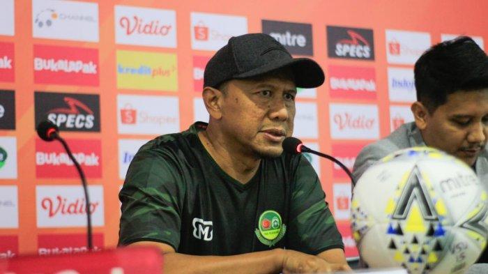 Badak Lampung FC Vs PS Tira Persikabo Berakhir Imbang 2-2, Rahmad Darmawan Kritisi Keputusan Wasit