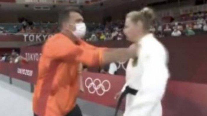 Videonya Viral, Atlet Ini Ungkap Alasan Wajahnya Ditampar Pelatih Sebelum Tanding Olimpiade