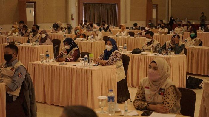 Pelatihan Wawasan Kebangsaan digelar Badan Kesatuan Bangsa dan Politik (Bakesbangpol) Kota Bogor di Hotel Green Forest, Bogor Selatan