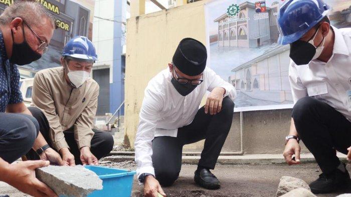 Masjid At-Taqwa Balai Kota Bogor Direvitalisasi, Bima Arya : Lebih Nyaman dan Indah