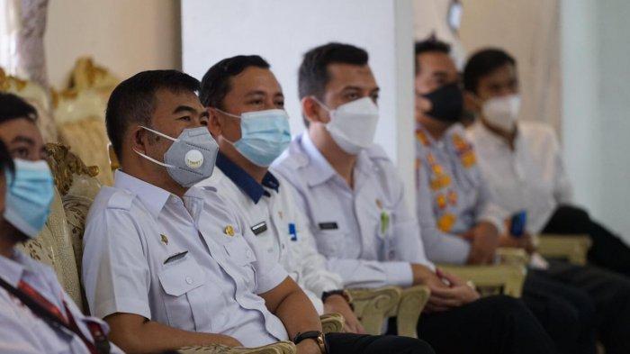 Peluncuran aplikasi Integrasi, Kolaborasi, Akselerasi Penggunaan Drone dan GIS ( Interaksi DGIS ) di Balai Kota Bogor, Rabu (19/5/2021).