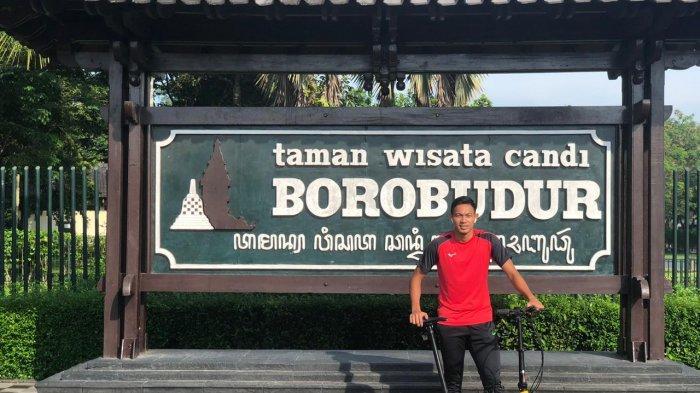 Kegiatan Andy Setyo Selama di Kampung Halaman, Tak Sekadar Bersepeda untuk Jaga Kebugaran