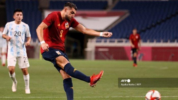 Olimpiade Tokyo 2021 : Permalukan Jepang, Spanyol Melaju ke Final Sepakbola Tantang Brasil