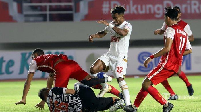 Sedang Berlangsung Final Piala Menpora 2021 Persib vs Persija, Pemain Muda Maung Bandung Kartu Merah