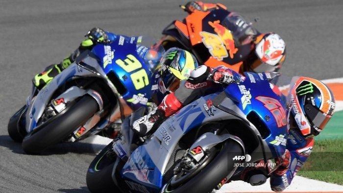 Live Streaming MotoGP Valencia 2020 Sirkuit Ricardo Tormo, Joan Mir Start dari Posisi 12