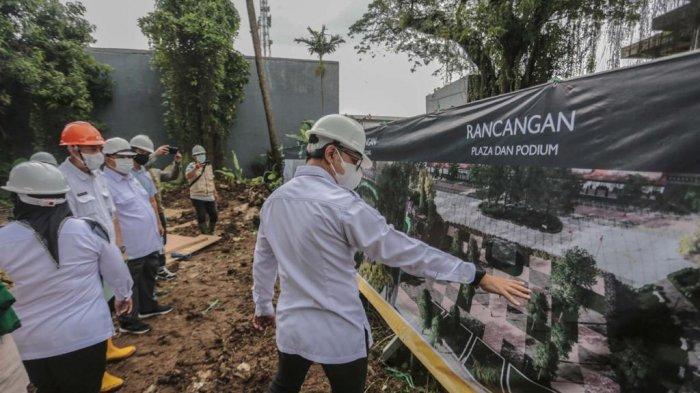 Akan Terintegrasi Dengan Masjid Agung, Alun-alun Kota Bogor Akan Ada 4 Segmen