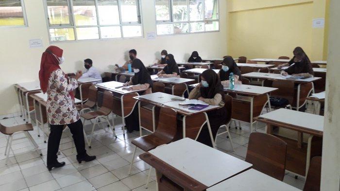 80 Persen Sekolah di Kabupaten Bogor Sudah Gelar PTM, Bupati : Aturan Prokes Ketat