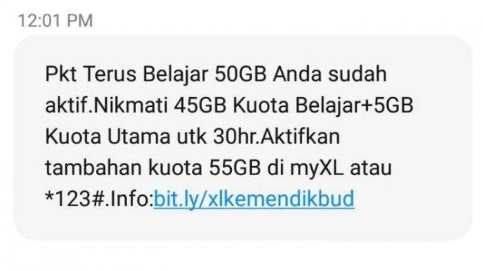 Sudah Cair, Ini Cara Mengecek Bantuan Kuota Kemendikbud untuk Pelanggan Telkomsel, Tri, XL, dan Axis