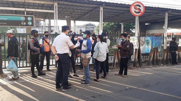 Penumpang yang Tak Bisa Tunjukkan SRTP di Stasiun Bojonggede Dilarang Lanjutkan Perjalanan