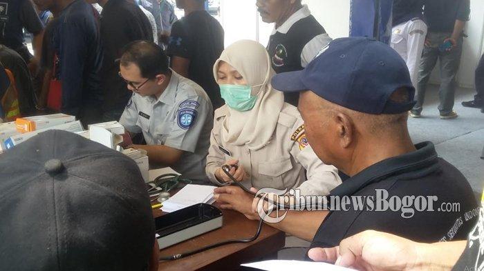 Satu Orang Dibawa BNNK Bogor Setelah Tes Urin di Terminal Barnangsiang