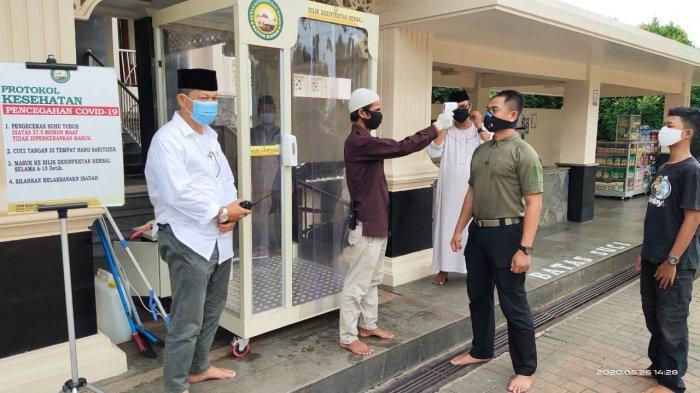 Masjid Baitur Ridwan Dapat Penghargaan Pelopor Penerapan Prokes Terbaik Rumah Ibadah di Kota Bogor