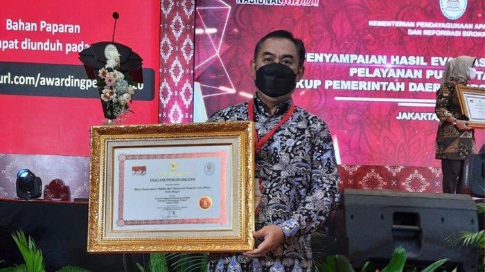 DPMPTSP dan Disdukcapil Kota Bogor Raih Penghargaan Pelayanan Publik dari Kemenpan RB