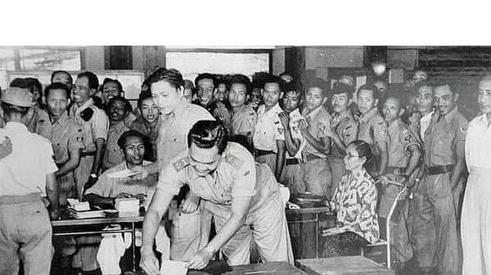 64 Tahun Silam, Begini Penampakan TPS Pemilu Pertama di Indonesia Tahun 1955