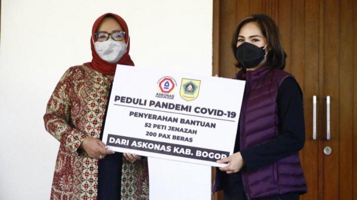 Pemkab Bogor Kembali Mendapat Bantuan 52 Peti Jenazah Covid-19