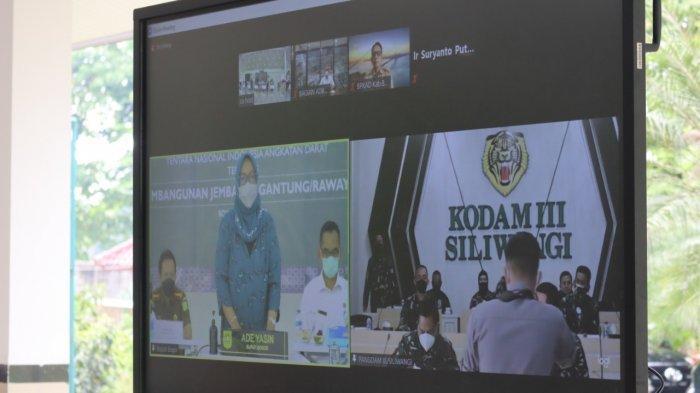 Pemkab Bogor bersama Kodam III Siliwangi Targetkan Bangun 215 Jembatan Sampai 2023
