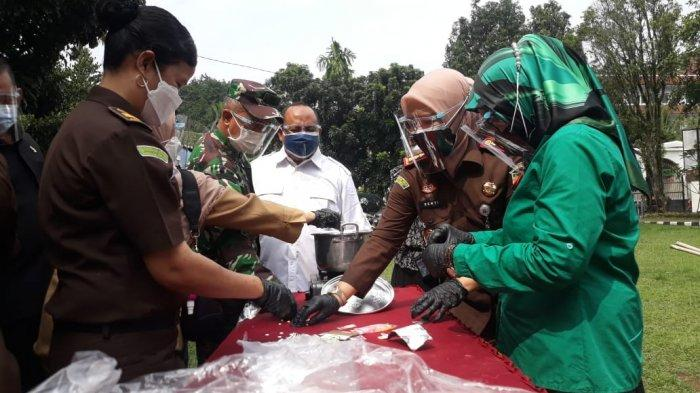 Marak Kasus Narkoba di Kota Bogor, Ribuan Gram Sabu dan Ganja Dimusnahkan