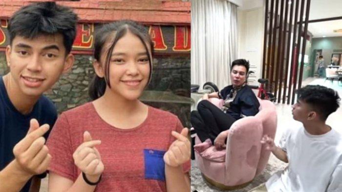 Penampilan  Dimas Bikin Pangling, Baim Wong Tanyakan Isu Pacaran dengan Anneth : Jangan Belagu Lu!