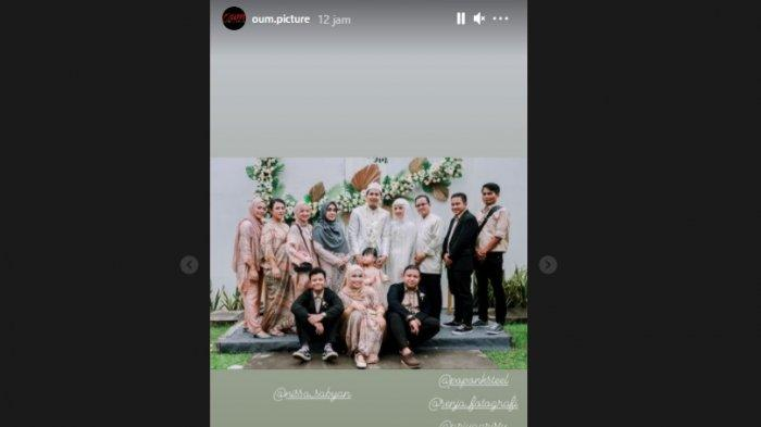 penampilan Nissa Sabyan di acara pernikahan
