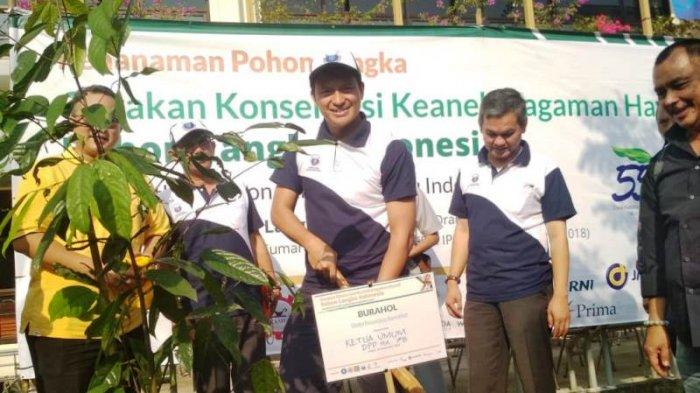 Gerakan Konservasi Keanekaragaman Hayati, IPB Tanam Pohon Langka