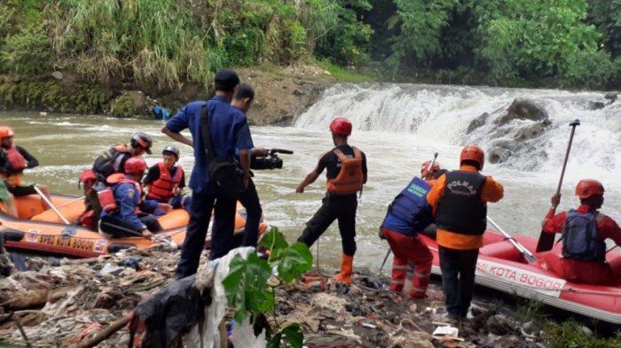 Santri yang Hanyut di Bogor Belum Ditemukan, Tim Gabungan Perluas Lokasi Pencarian
