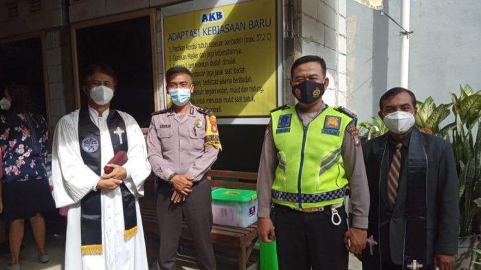 Dijaga Polisi, Perayaan Hari Paskah di GPIB Bojonggede Bogor Berlangsung Khidmat