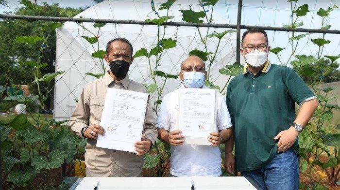 Resmikan Green House Modern, Rektor : Learning Center IPB University Harus Punya 5 Fungsi Ini