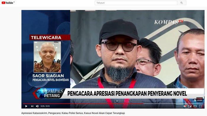 Peran 2 Polisi Penyerang Novel Baswedan, Saor Siagian : Saya Kira Mereka Tak Punya Kepentingan