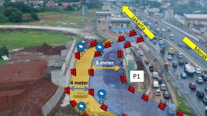 Pemasangan Jembatan, Tol Jakarta-Tangerang Dialihkan Mulai Nanti Malam