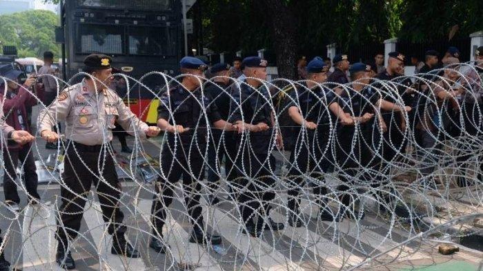 Sidang Perdana MK Digelar Hari Ini, Polisi Kembali Terapkan Skema Pengamanan 4 Ring