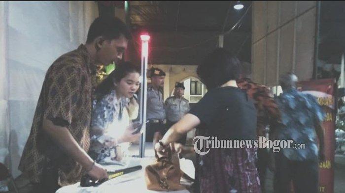 Perayaan Malam Natal, Penjagaan di Gereja Katedral Bogor Diperketat