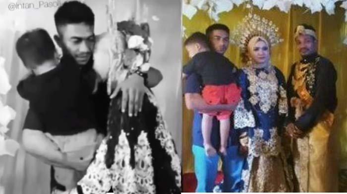 Isak Tangis Pengantin Wanita di Pesta Pernikahan, Mantan Suami Tetiba Datang Gendong Anak Bilang Ini