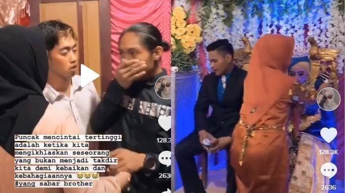 Video Viral Mantan Kekasih Datang ke Acara Pernikahan, Mempelai Wanita Nangis di Pelaminan