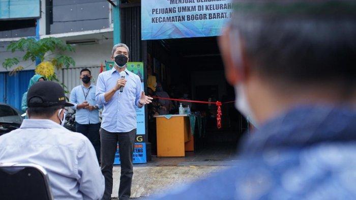 Kembangkan UMKM Kota Bogor, Dedie Resmikan Galeri di Kelurahan Menteng