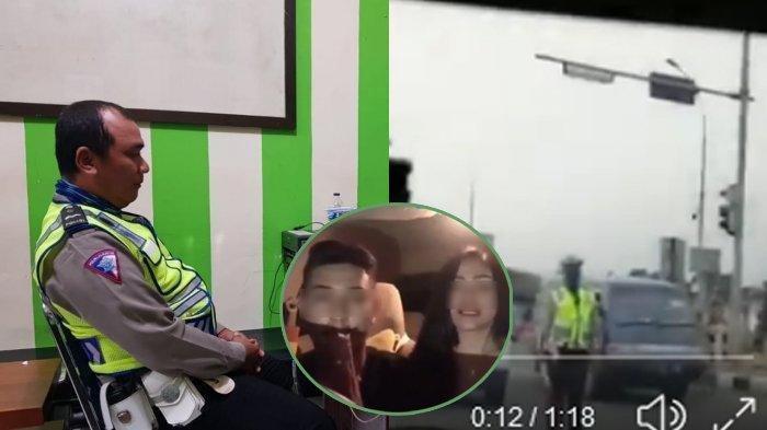 Buntut Video Viral Polantas Purwakarta Dihina Pengendara, Pria dan Wanita Ini Klarifikasi Begini