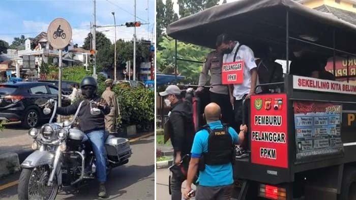 Identitas Pengendara Moge yang Lolos Ganjil Genap Kota Bogor, Ini Fotonya Pakai Kalung Pelanggar