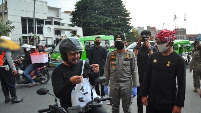 Banyak Pengendara Motor Terjaring Sidak Masker di Bogor